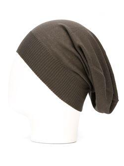 Шапка-Бини Rick Owens                                                                                                              серый цвет