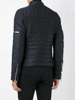 Стеганая Куртка Balmain                                                                                                              чёрный цвет