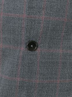 Костюм В Клетку Armani Collezioni                                                                                                              серый цвет