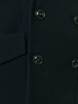 Двубортное Пальто Dsquared2                                                                                                              синий цвет