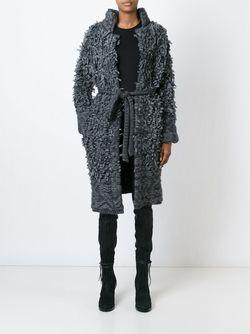 Пальто С Поясом 152 Tourist A.F.Vandevorst                                                                                                              серый цвет