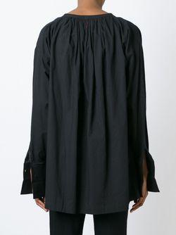 Топ С Вышивкой 152 Contendere A.F.Vandevorst                                                                                                              чёрный цвет