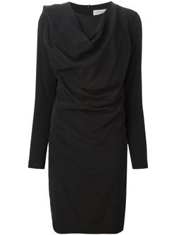 Драпированное Платье 152 Demand A.F.Vandevorst                                                                                                              чёрный цвет