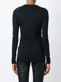 152 Fairy Long Sleeve T-Shirt A.F.Vandevorst                                                                                                              чёрный цвет