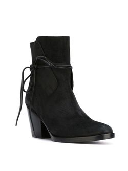 152x3636 Boots A.F.Vandevorst                                                                                                              чёрный цвет