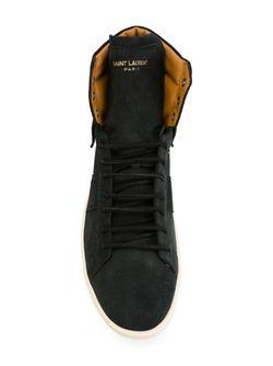 Хайтопы Court Classic Saint Laurent                                                                                                              черный цвет