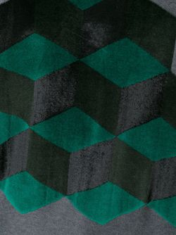 Футболка С Геометрическим Узором Christopher Kane                                                                                                              серый цвет