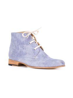 Ботинки-Дезерты Waris ESQUIVEL                                                                                                              синий цвет