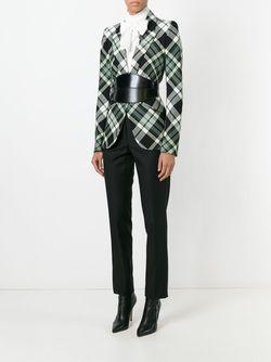 Пиджак В Клетку Alexander McQueen                                                                                                              чёрный цвет