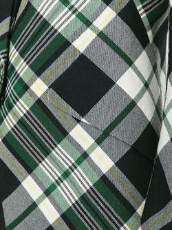 Пиджак В Клетку Alexander McQueen                                                                                                              черный цвет