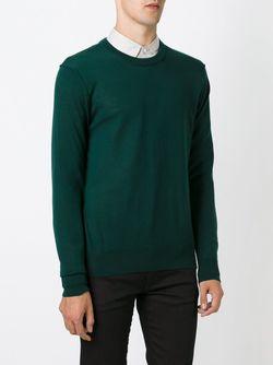 Свитер С Круглым Вырезом Dolce & Gabbana                                                                                                              зелёный цвет