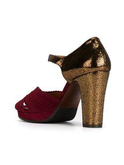 Туфли На Платформе Chie Mihara                                                                                                              красный цвет