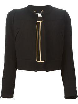Укороченный Пиджак Chloe                                                                                                              черный цвет