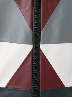 Куртка-Бомбер С Геометрическим Узором Valentino                                                                                                              синий цвет