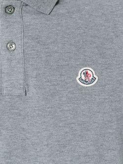 Футболка-Поло С Длинными Рукавами Moncler                                                                                                              серый цвет