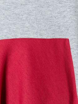 Футболка Колор-Блок SportMax                                                                                                              серый цвет