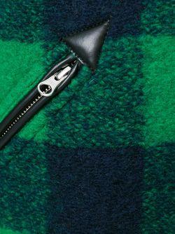 Полупальто Gelicia В Клетку ISABEL MARANT ÉTOILE                                                                                                              зелёный цвет