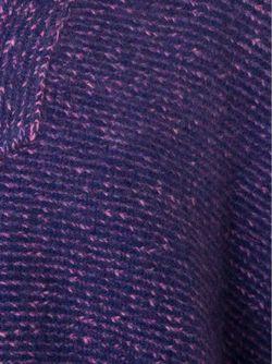 Плетеное Пончо The Elder Statesman                                                                                                              розовый цвет