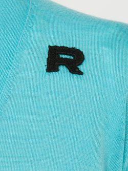 Кардиган С V-Образным Вырезом Rochas                                                                                                              синий цвет