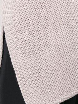 Свитер С Асимметричным Подолом Odeeh                                                                                                              Nude & Neutrals цвет