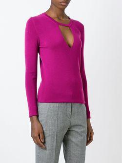 Свитер C V-Образным Вырезом Barbara Bui                                                                                                              розовый цвет