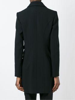 Двубортное Пальто Barbara Bui                                                                                                              чёрный цвет