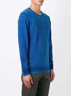 Свитер С Круглым Вырезом Dondup                                                                                                              синий цвет