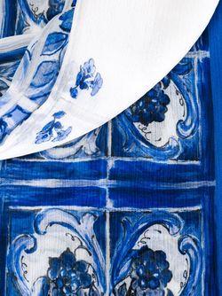 Шарф Majolica Dolce & Gabbana                                                                                                              белый цвет