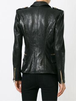 Куртка В Стиле Милитари Balmain                                                                                                              черный цвет