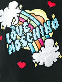 Толстовка С Аппликацией Love Moschino                                                                                                              чёрный цвет