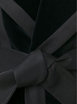 Бархатный Пиджак Без Рукавов Balmain                                                                                                              черный цвет