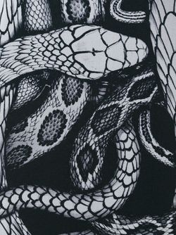 Блузка С Принтом Змей Barbara Bui                                                                                                              чёрный цвет