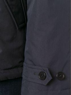 Двубортное Пальто Aspesi                                                                                                              синий цвет