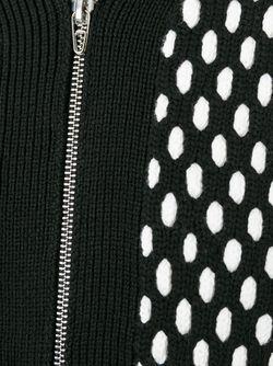 Кардиган С Контрастным Узором T By Alexander Wang                                                                                                              черный цвет
