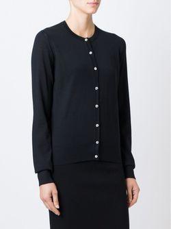 Кардиган На Пуговицах С Кристаллами Dolce & Gabbana                                                                                                              чёрный цвет