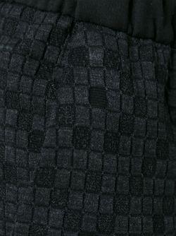 Спортивные Брюки В Клетку Stephan Schneider                                                                                                              чёрный цвет