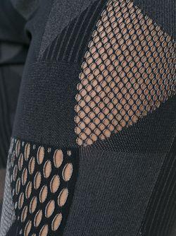 Леггинсы С Прорезными Деталями PLEATS PLEASE BY ISSEY MIYAKE                                                                                                              черный цвет