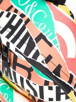 Рюкзак С Графическим Принтом Логотипов Moschino                                                                                                              желтый цвет