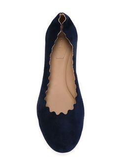 Балетки Lauren Chloe                                                                                                              синий цвет