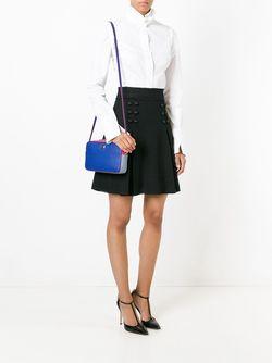 Сумка Через Плечо В Стиле Колор-Блок Dolce & Gabbana                                                                                                              синий цвет