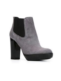 Ботинки На Высоком Каблуке Hogan                                                                                                              серый цвет