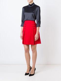 Блузка С Воротником-Стойкой Dolce & Gabbana                                                                                                              черный цвет