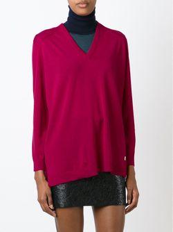Свитер C V-Образным Вырезом Kenzo                                                                                                              розовый цвет