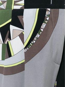 Брюки С Геометрическим Узором Emilio Pucci                                                                                                              многоцветный цвет