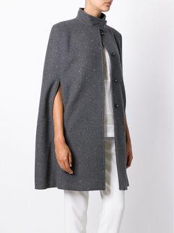 Накидка Anouk Stella Mccartney                                                                                                              серый цвет