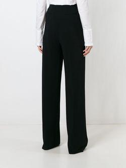 Широкие Брюки Строгого Кроя Givenchy                                                                                                              чёрный цвет