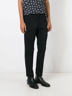 Спортивные Брюки Кроя Слим Dolce & Gabbana                                                                                                              черный цвет