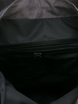 Рюкзак С Принтом Dolce & Gabbana                                                                                                              черный цвет