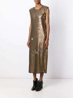 Платье С Пайетками Forte Forte                                                                                                              серебристый цвет