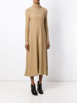 Расклешенное Платье С Высоким Горлышком Forte Forte                                                                                                              Nude & Neutrals цвет